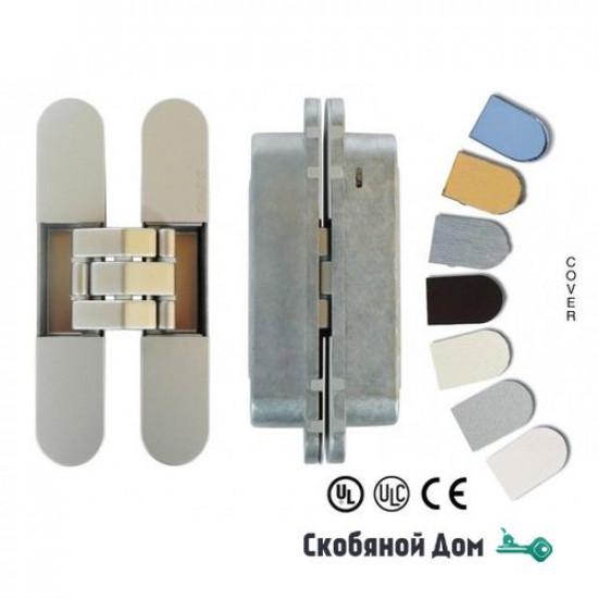 KUBICA 7080 DXSX, CS универсальная петля, цвет МАТОВЫЙ ХРОМ (80 kg)