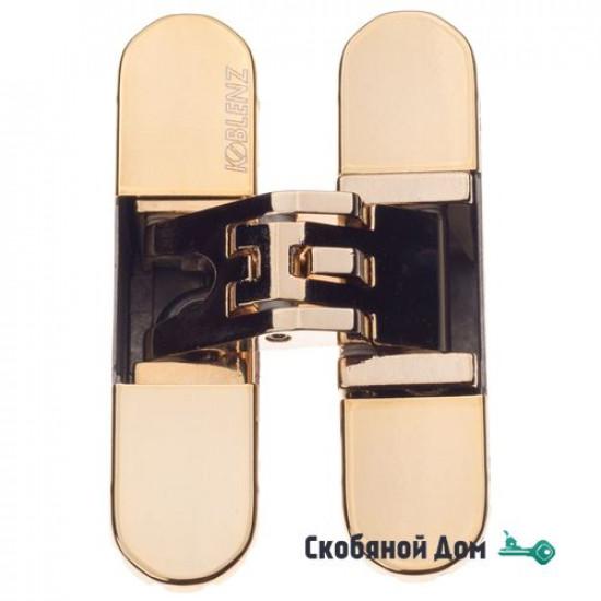 KUBICA 6200 DXSX, GOLD петля скрытая универсальная ЗОЛОТО (57 kg)