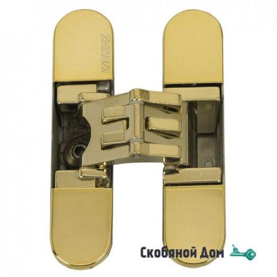 KUBICA 2700 DXSX, GOLD петля скрытая универсальная центральная ЗОЛОТО (57 kg)