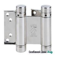 101AN075 Дверная петля пружинная ALDEGHI 75x28x34 мм никель