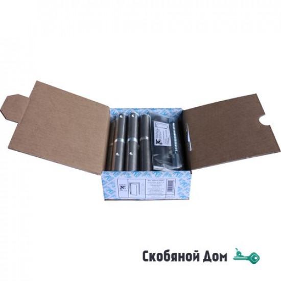 1254AL155_ST Петля приварная для металлических дверей, ALDEGHI Ø22x25мм, с функцией доводчика ЛЕВАЯ