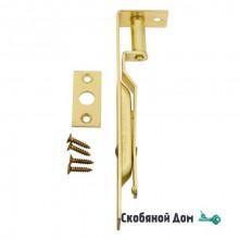 211AO015 Ригель дверной врезной ALDEGHI 150мм полированная латунь