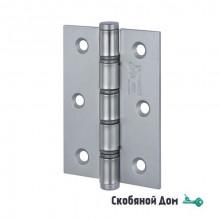 136AC403PP_P2 Петля дверная универсальная ALDEGHI BASIC 102x76x3 матовый хром