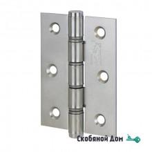 136AN403PP_P2 Петля дверная универсальная ALDEGHI BASIC 102x76x3 матовый никель